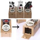 Cute Dog Model Piggy Bank Money Save Pot Coin Box Creative Gift DQ