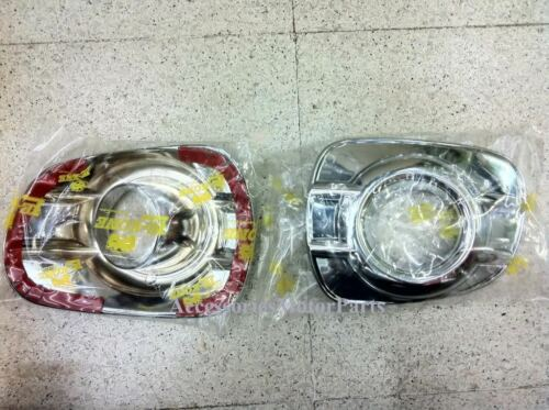 FOR MITSUBISHI MONTERO// PAJERO SPORT CHROME FOG SPOT LIGHT LAMP COVER TRIM