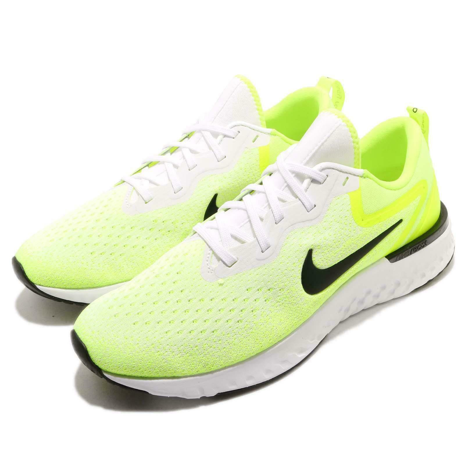 NIKE ODYSSEY REACT LOW MEN SHOES MUSTERD WHITE BLACK AO9819-103 SIZE 10.5 NEW