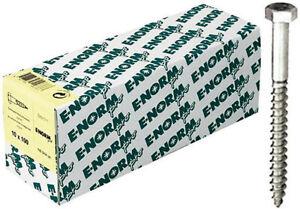 E-NORMpro-Sechskant-Holzschrauben-DIN-571-ST-galZn-12x400-HP-Inh-10-Stueck
