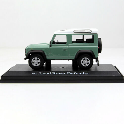 1//43 Land Rover 110 Light Green Alloy Axle Car Model Gift Collection