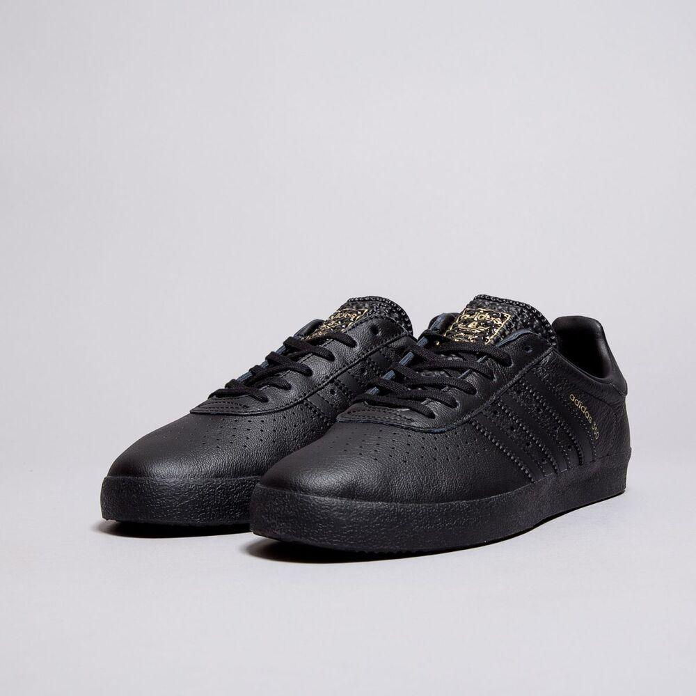 buy online 2bd85 f1e5f Adidas Originals 350 en Cuir Noir Baskets Taille 11 Entièrement neuf dans  sa boîte   Inutilisé