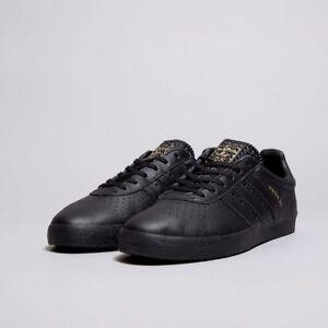 11 Adidas nuovissime pelle in ginnastica da Originals 350 Uk Scarpe in scatola nera AqH6xzvnW