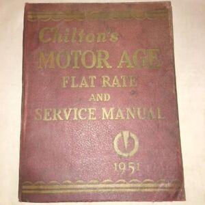 chilton motor manual