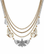 LUCKY BRAND Mid-Length Layered Butterfly Necklace