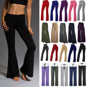 New-Yoga-Pants-Basic-Women-Workout-Lounge-Leggings-Butt-Lift-Sports-Spandex-Hot