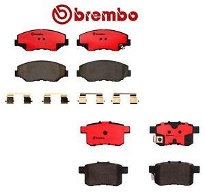 NEW Rear Ceramic Disc Brake Pads Set Brembo for Acura TSX Honda Accord P28072N