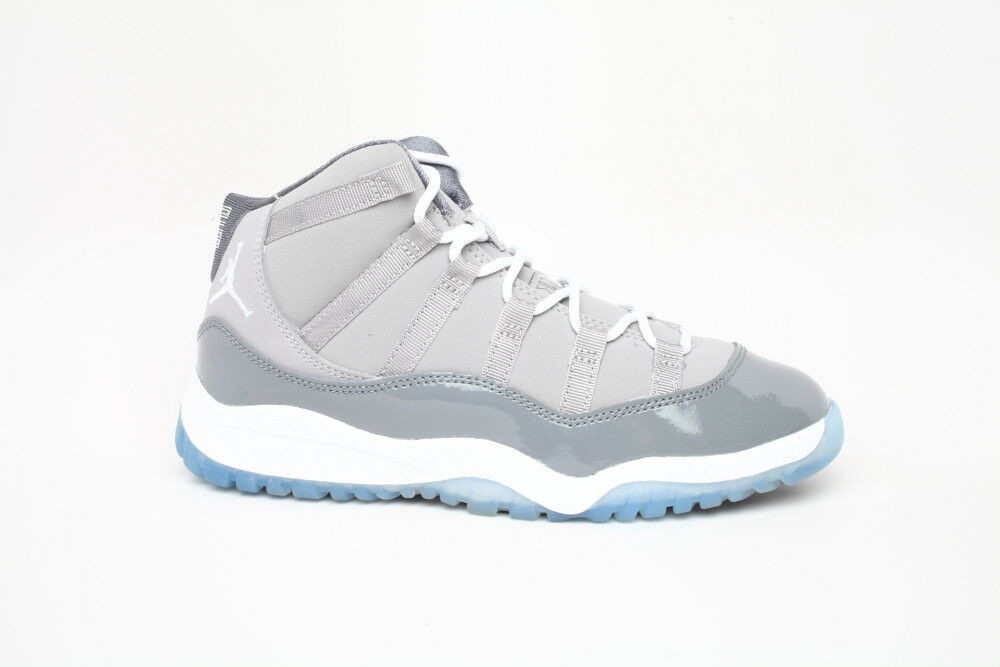 Nike air jordan 11 xi cool grey 378039 001 air max bg gs ps sz y