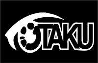 Otaku Symbol 2 Vinyl Sticker 7x6 Inch White