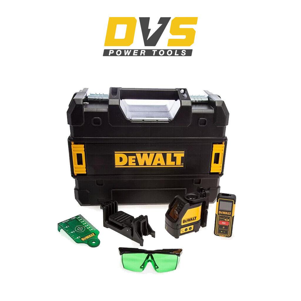 DeWalt DW0889CG Auto Nivelación Láser de Línea Verde DW088CG medida de distancia de 100 pies
