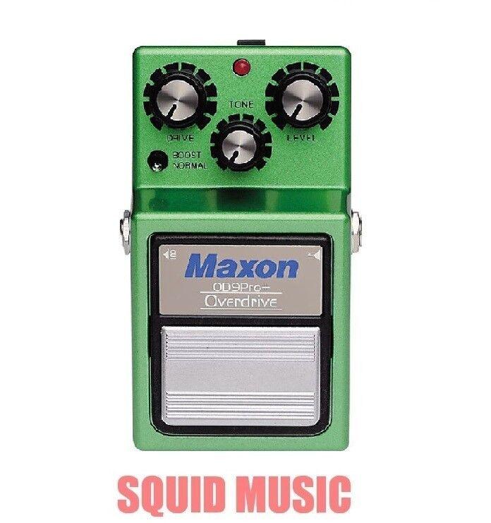 Maxon OD-9PRO+ Overdrive Pro Plus Guitar Effects Pedal OD9PRO+ TUBESCREAMER