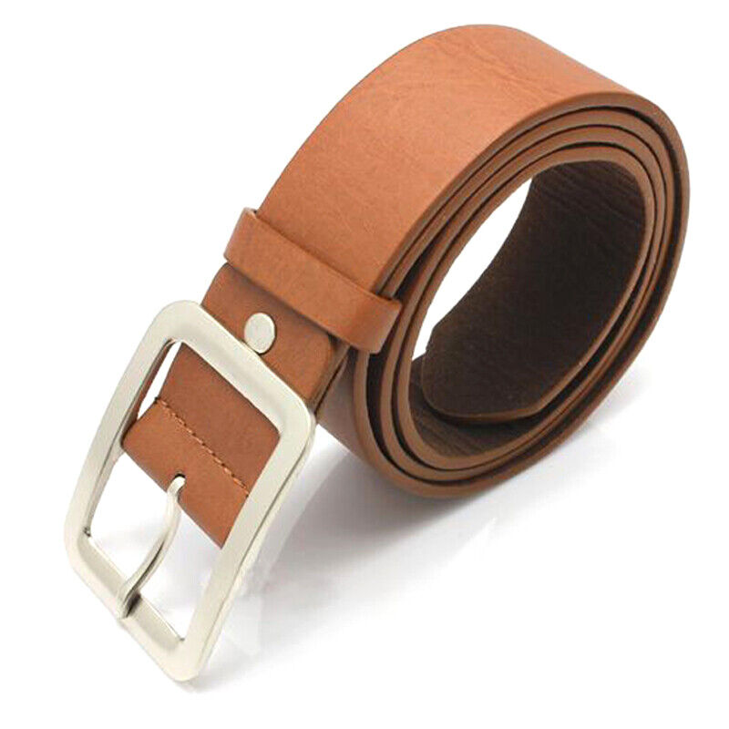 Woman Leather Buckle Belts Women Casual For Dress Jeans Waistbands Waists Strap