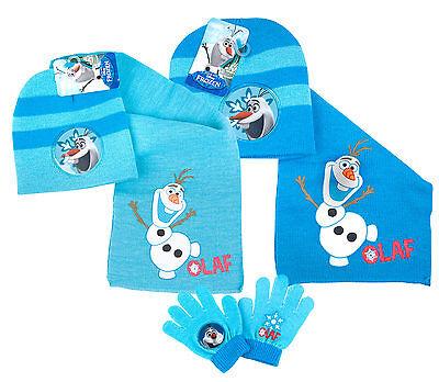 Frozen Olaf Hat /& Gloves Set ~ BNWT