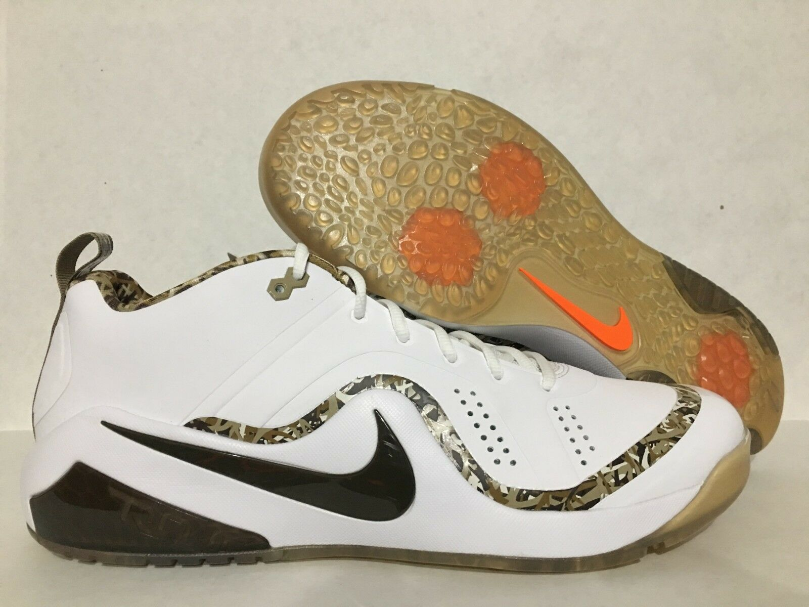 Nike Zoom Trout 4 Turf TF Baseball shoes All Star Game ASG Camo SZ (921599-172)