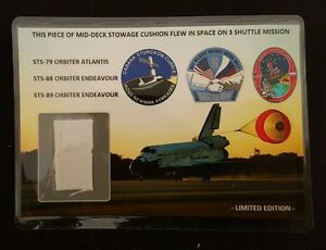 Space-Shuttle-3-times-Flown-Cushion-Material-Card
