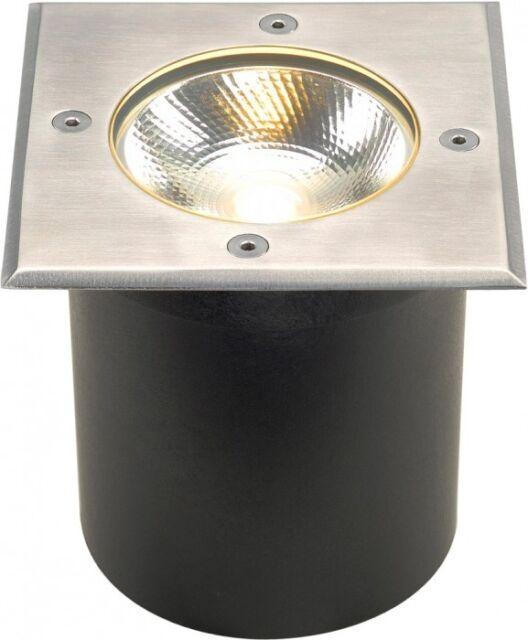 SLV ROCCI, Bodeneinbauleuchte, eckig, Edelstahl 316, LED