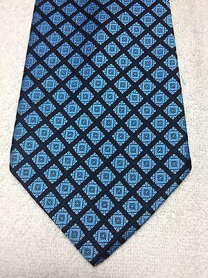 Attento Vintage Sears Cravatta Uomo 4.75 X 57 Blu Navy Con Luce Blu E Arancio Famoso Per Materie Prime Di Alta Qualità, Gamma Completa Di Specifiche E Dimensioni E Grande Varietà Di Design E Colori