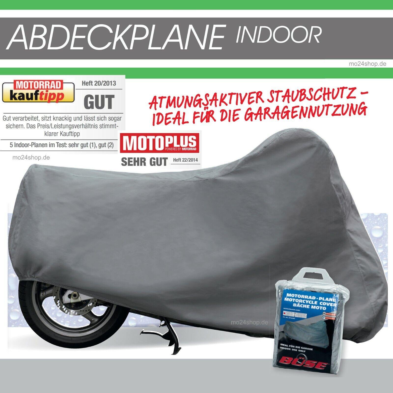 Größe L Moped Motorrad grau Roller Abdeckplane Indoor für innen