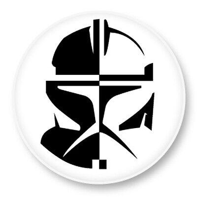 Pin Button Badge Ø38mm Galactic Republic République Galactique Star Wars