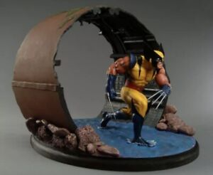 WOLVERINE STATUE DIORAMA DYNAMIC FORCES LIMITED EDITION /1500 CLAYBURN MOORE