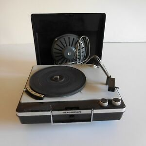 Electrophone-tourne-disques-record-player-SCHNEIDER-AVILA-art-deco-XXe-France