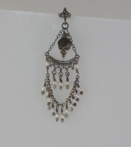 Single Earring Trend! Antique Victorian Dangling e