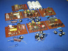 Condensadores-conjunto de Revox a77 placas con Trimmer y condensadores motor