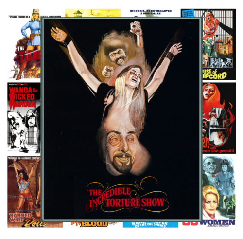 "Mini Posters Torture Horror WIP Vintage Trash Movie MP472 13 posters 8/""x11/""//A4"