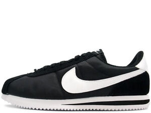 best service b4e34 42399 Image is loading New-Nike-Cortez-Nylon-Black-White-819720-011-