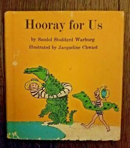 Hooray For Us Sandol Stoddard Warburg with DJ 1970 2nd Printing Hardbound