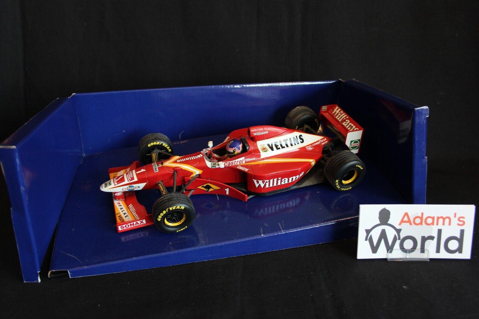 Minichamps Williams Mecachrome Show car 1998 1 18  1 Jacques Villeneuve (CAN)