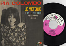 PIA COLOMBO LE METEQUE FRENCH ORIG EP MICHEL COLOMBIER DEDICACE
