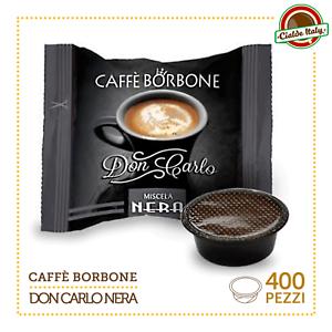 400-Capsule-Caffe-Borbone-Don-Carlo-Miscela-Nera-compatibili-a-Modo-Mio