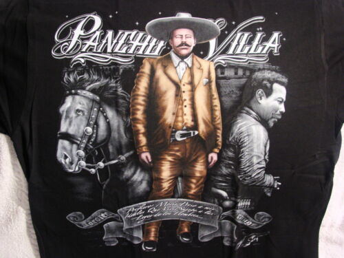 DOROTEO ARANGO PANCHO VILLA MEXICO MEXICAN REVOLUTIONARY HORSE T-SHIRT SHIRT