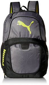 New-With-Tags-Puma-Contender-Evercat-Bag-Backpack-Black-Grey-Gold
