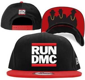 b1619ae5a70 New Era RUN DMC 9FIFTY Old School Snapback HIP-HOP Hat Cap (OSFA ...
