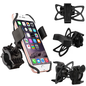 Bicycle-Motorcycle-MTB-Bike-Handlebar-Mount-Holder-For-iPhone-Cell-Phone-GPS