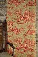 Pierre Deux Aumont Rose Toile Wallpaper Double Roll Bolts Free Shipping