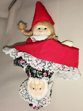 Topsy Turvy Rag Doll Pattern  # 5220 Vintage Suzy 2 Dolls in One! Upside Down