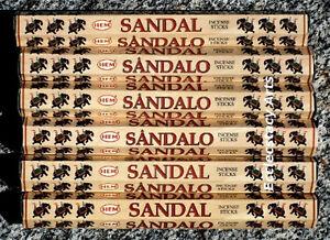 Hem-Sandal-Incense-20-60-80-100-120-Sticks-You-Pick-Amount