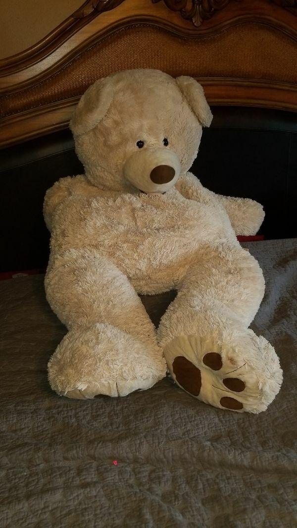 Hugfun International Giant Jumbo Teddy Bear 53  Soft and Plush Excellent