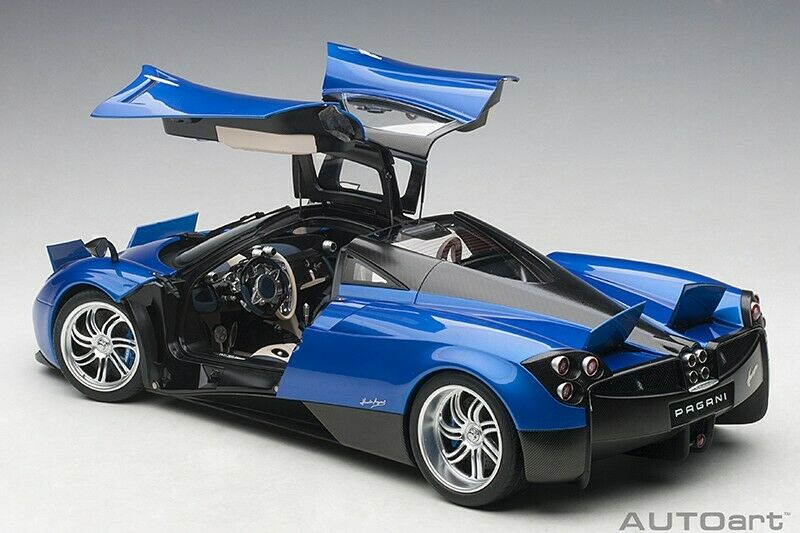 Autoart 2011 Pagani Huayra Metálico azul 1 12 Escala Nueva Versión  en Stock