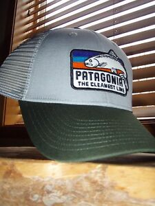 Image is loading Patagonia-The-Cleanest-Line-Fish-Drifter-Grey-LoPro- 6879477b934