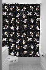 Sourpuss Baby Kewpie Monsters Shower Curtain NEW Tattoo Flash Halloween Retro