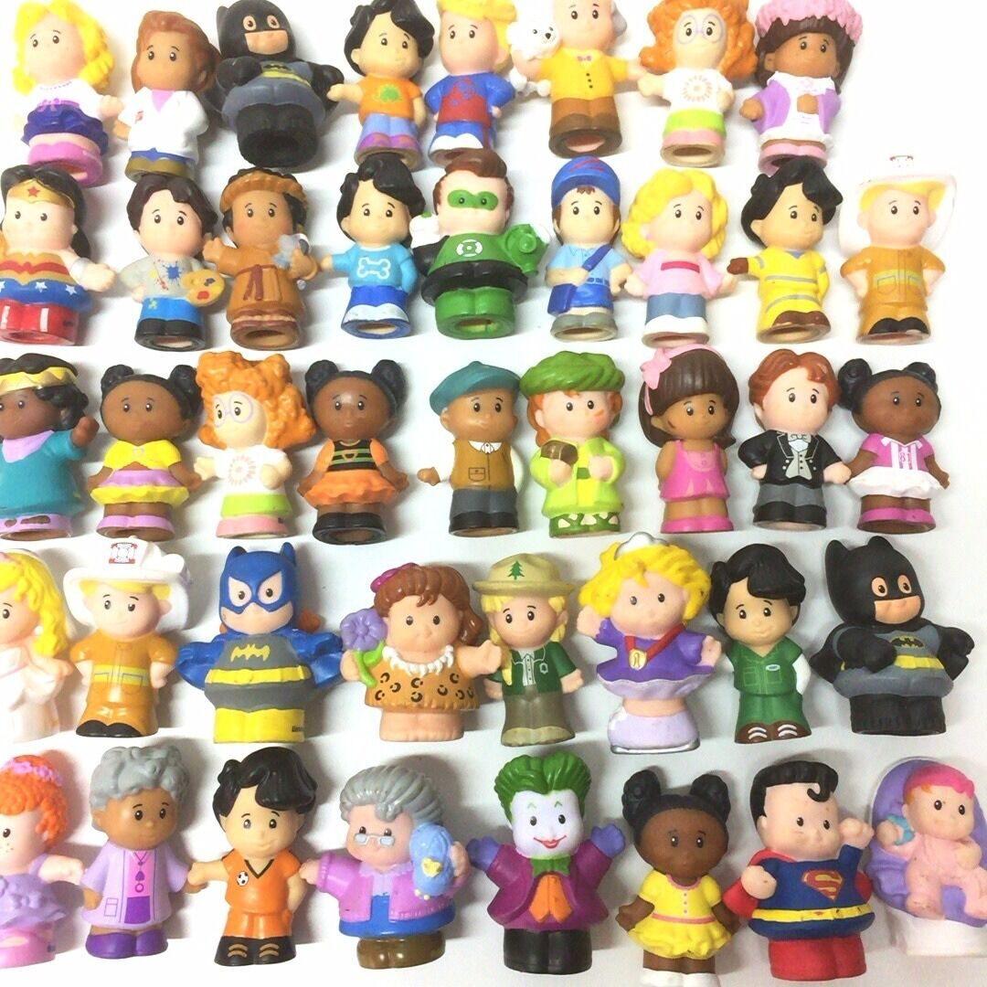 Random 10PCS Fisher-Price Little People Friendship 2.0  Figure Baby Toy Gift