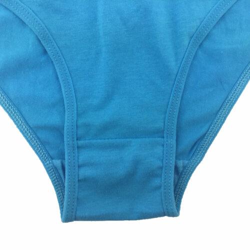 3 6 12 Pcs Lot Womens Cotton Briefs Panties Solid Everday Cheeky Underwear,S M L