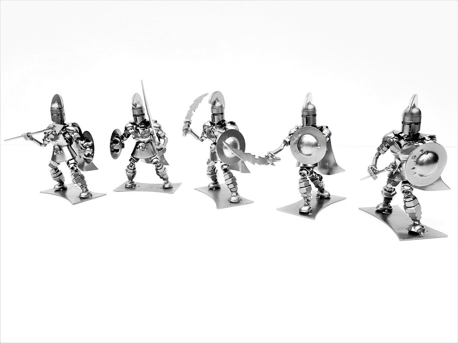 Spartan Warrior Collection 15cm Figure   Model Metal Art Productions Sculpture