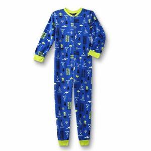 Video Game Pajamas Size 8,10/12 L Boys Blanket Sleeper One Piece Union Suit  NEW | eBay