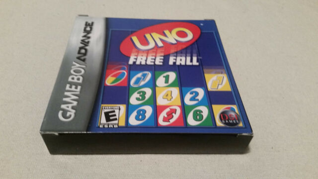 Uno Free Fall (Gameboy Advance) COMPLETE