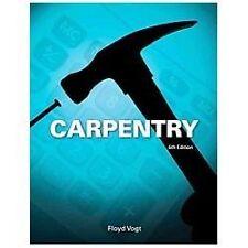 Carpentry by Floyd Vogt (2013, Hardcover)